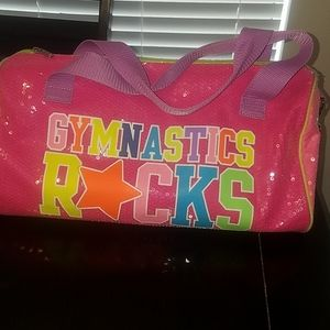 Justice Gymnastics Rocks Duffle Bag